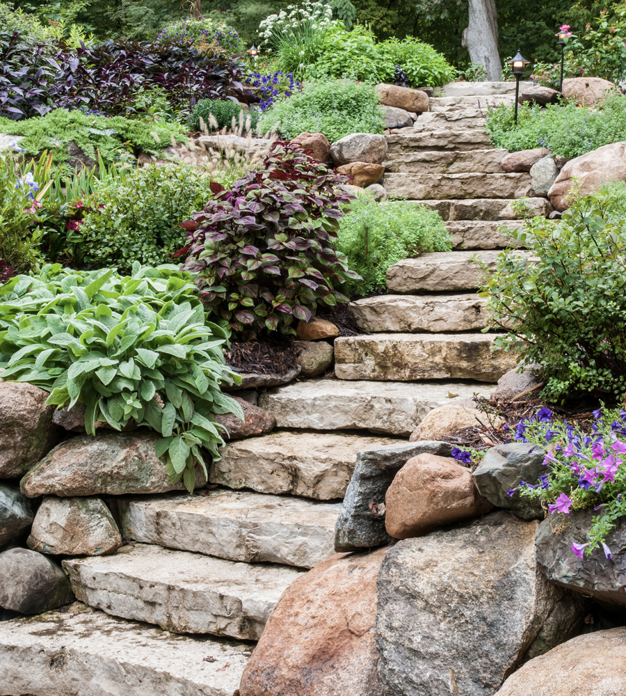 best stair stone install